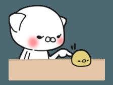 Animated MochiNyan & MochiBird sticker #11870655