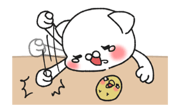 Animated MochiNyan & MochiBird sticker #11870668