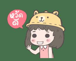 mini lady sticker #11870958