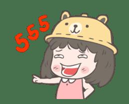 mini lady sticker #11870959
