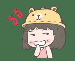 mini lady sticker #11870960