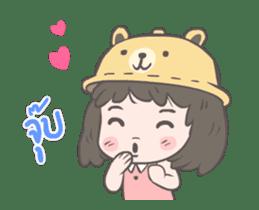 mini lady sticker #11870964