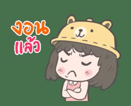 mini lady sticker #11870966