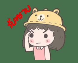 mini lady sticker #11870967