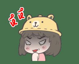 mini lady sticker #11870968