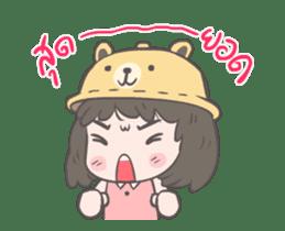mini lady sticker #11870969