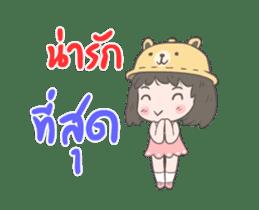 mini lady sticker #11870970