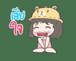 mini lady sticker #11870971