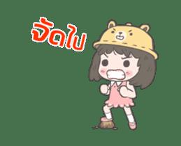mini lady sticker #11870972