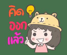 mini lady sticker #11870974