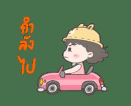 mini lady sticker #11870975