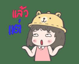 mini lady sticker #11870977