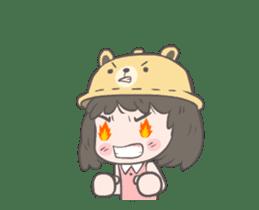 mini lady sticker #11870979