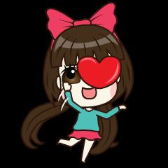 LOVE CUTE GIRL