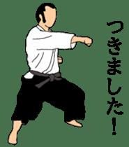 Japanese-budo taido sticker #11880352