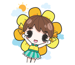 melon goofy girl, but I am so cute + sticker #11880646