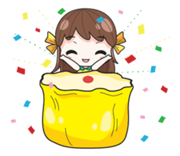 melon goofy girl, but I am so cute + sticker #11880660