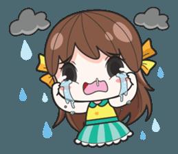 melon goofy girl, but I am so cute + sticker #11880668
