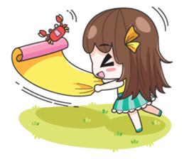 melon goofy girl, but I am so cute + sticker #11880670