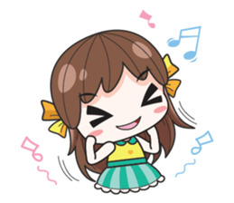 melon goofy girl, but I am so cute + sticker #11880675