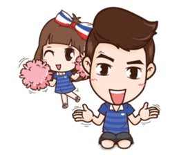 Cheer Thailand + sticker #11881152