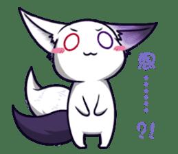 fox girl-tails sticker #11886630