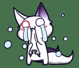 fox girl-tails sticker #11886635