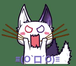 fox girl-tails sticker #11886641