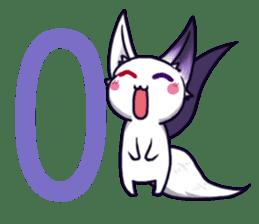 fox girl-tails sticker #11886648