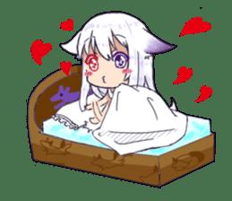 fox girl-tails sticker #11886661