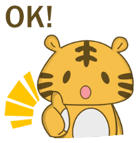 Tawny Tiger sticker #11888876