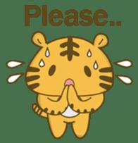 Tawny Tiger sticker #11888877