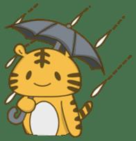 Tawny Tiger sticker #11888882