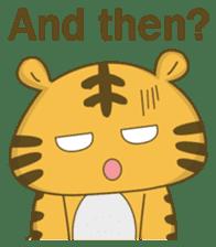 Tawny Tiger sticker #11888884