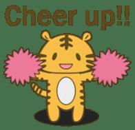 Tawny Tiger sticker #11888886