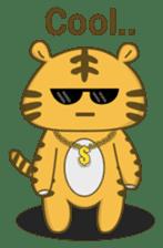 Tawny Tiger sticker #11888887