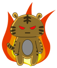 Tawny Tiger sticker #11888889