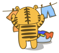 Tawny Tiger sticker #11888892