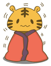Tawny Tiger sticker #11888896