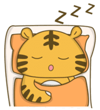 Tawny Tiger sticker #11888903