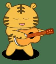 Tawny Tiger sticker #11888905