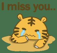 Tawny Tiger sticker #11888906
