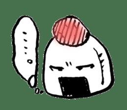 onigiri kun to uinna chan! sticker #11890239