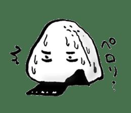 onigiri kun to uinna chan! sticker #11890241