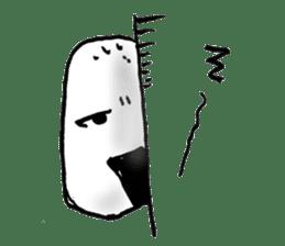 onigiri kun to uinna chan! sticker #11890252