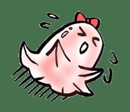 onigiri kun to uinna chan! sticker #11890256