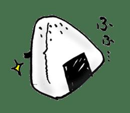 onigiri kun to uinna chan! sticker #11890262