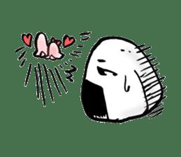 onigiri kun to uinna chan! sticker #11890264
