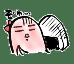 onigiri kun to uinna chan! sticker #11890274