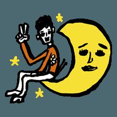 Akira Jimbo's Official Statata Stickers!